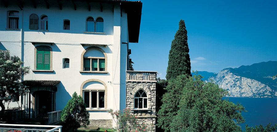 Bellevue San Lorenzo Hotel, Malcesine, Lake Garda, Italy - exterior of the hotel.jpg